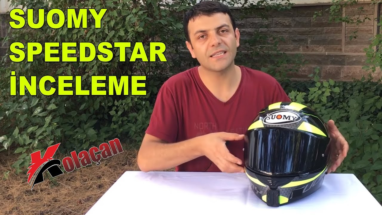 Suomy Speed Star Kask İnceleme